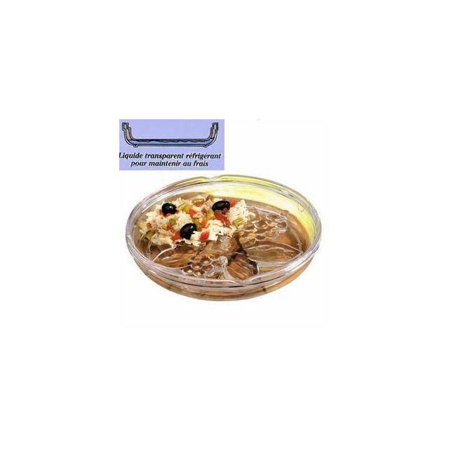 MAISON FUTEE Assiette Fraîcheur 21 Cm