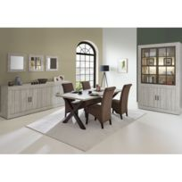 meuble salle manger chene gris - Achat meuble salle manger chene ...