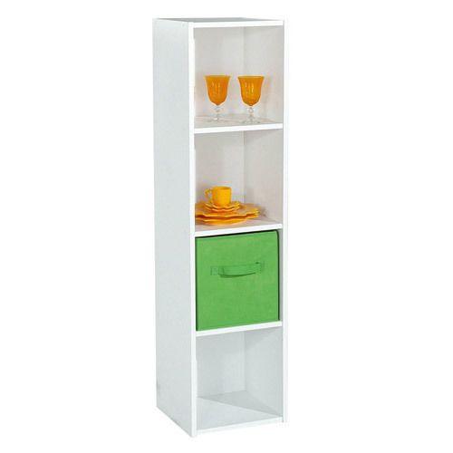 alsapan etag re colonne en bois h122cm l31cm 4 niches compo pas cher achat vente etag res. Black Bedroom Furniture Sets. Home Design Ideas