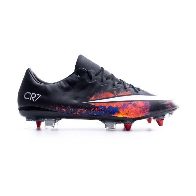 38fd2f7961a Nike - Mercurial Vapor X Cr Acc Sg-pro Black-White-Total crimson-Purple - pas  cher Achat   Vente Chaussures foot - RueDuCommerce