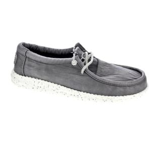 Dude Wally Perforated Mocassins Homme Gris QZhMuI