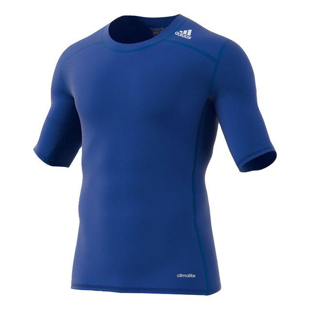 Tee shirt Techfit Base Tee manches courtes bleu