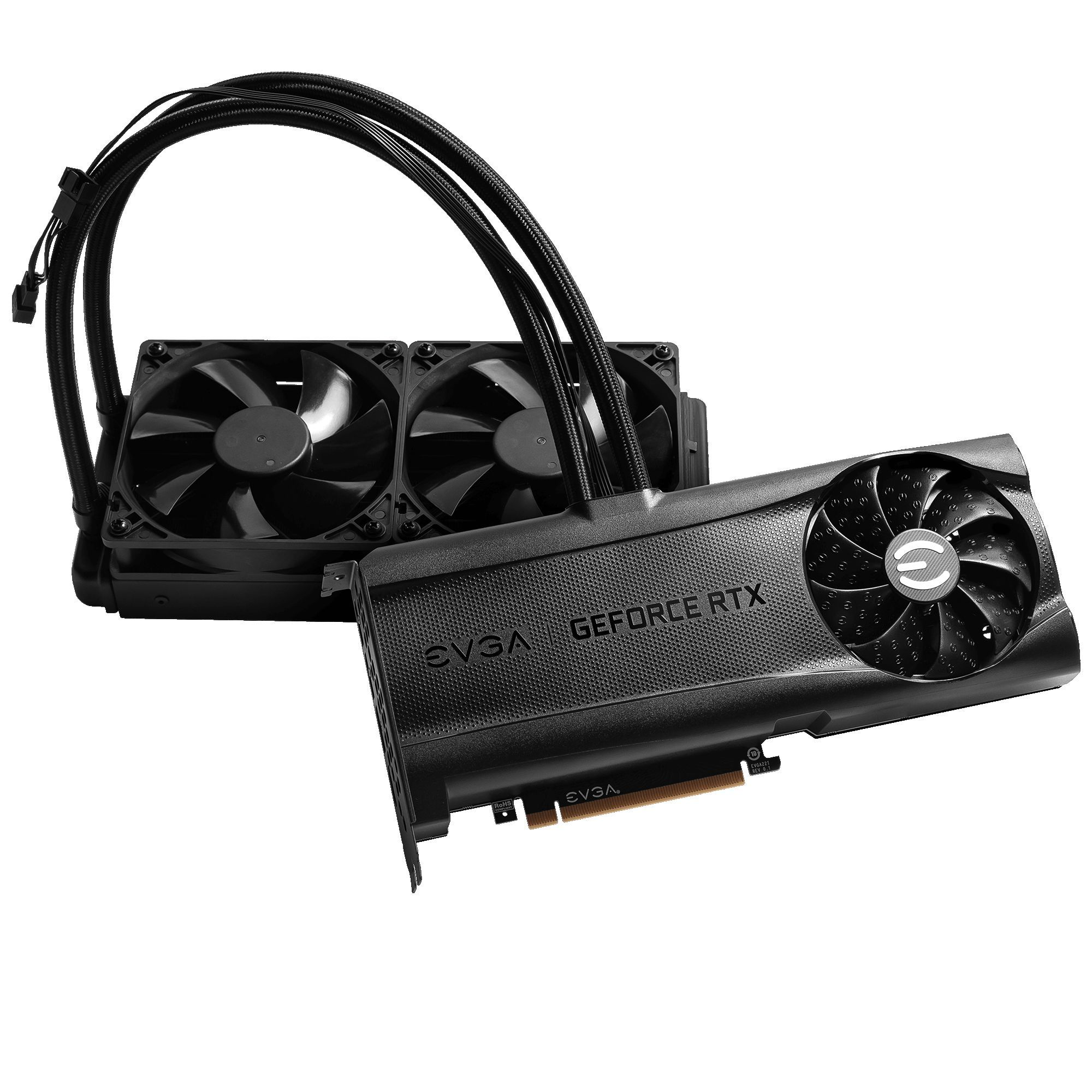Carte graphique gaming GeForce RTX 3090 XC3 Ultra Hybrid EVGA