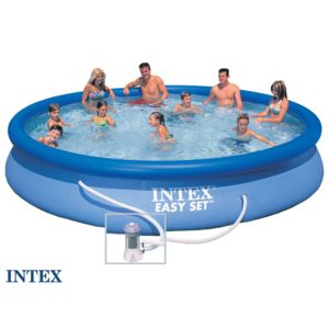 Intex piscine autostable 4 57 x 0 84 m pas cher achat for Piscine autostable