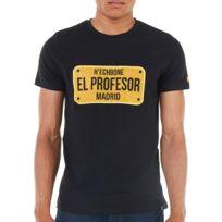 Hechbone Paris - Tee shirt noir avec inscription