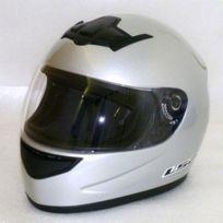 Ls2 - Soldes casque moto intégral Ff350.1 Single Mono gris brillant Promo Xl