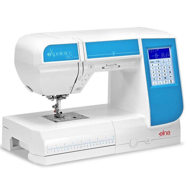 Elna Machine à coudre eXperience 580 - Garantie 5 ans