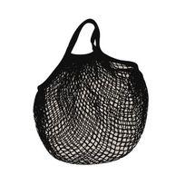 Sidebag - filet à provisions coton noir - 0701002