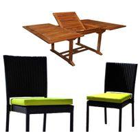 Coussin pour chaises teck achat coussin pour chaises teck rue du commerce - Coussin pour chaise en teck ...