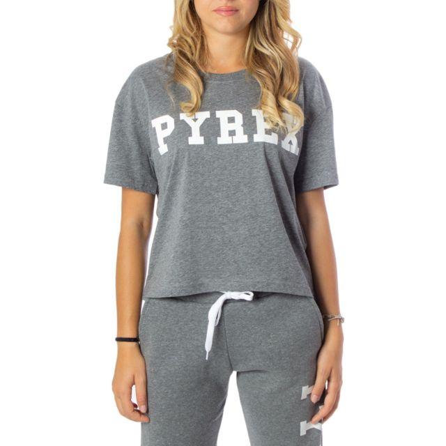 Pyrex Femme 34222GREY Gris Coton T-shirt
