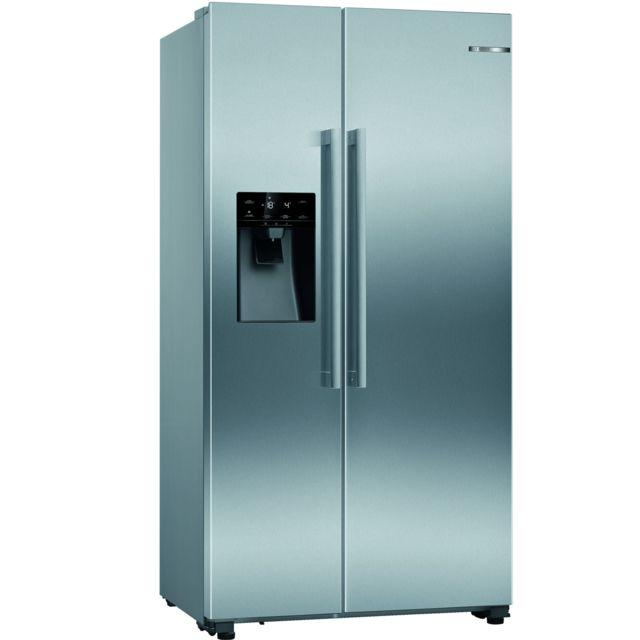 Bosch réfrigérateur américain 91cm 533l a+ nofrost inox - kad93vifp