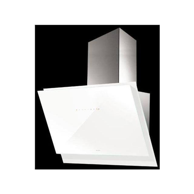 Roblin - Hotte Murale décorative Gliss 800Wh Blanc 5059001