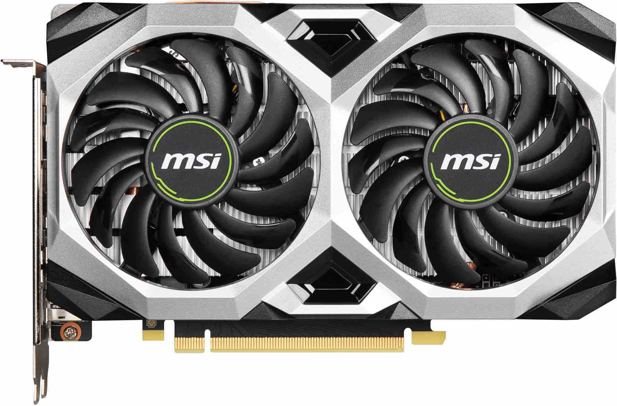 Carte graphique GeForce GTX 1660 Super Ventus XS OC 6 Go MSI