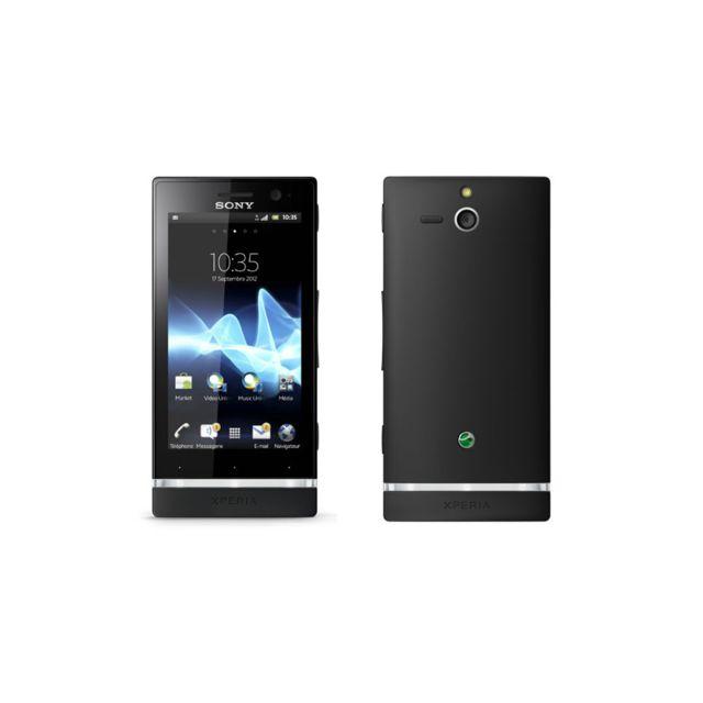 Sony - Smartphone Xperia U Noir