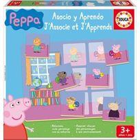 Educa Borras - Peppa Pig J'associe et J'apprends, Loto