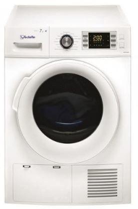 vedette s che linge pompe chaleur vsf58h1dw achat s che linge condensation. Black Bedroom Furniture Sets. Home Design Ideas