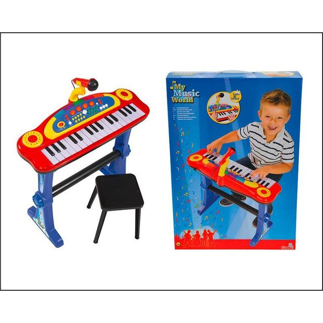 Simba Toys 106838629 My Music World keyboard sur pied