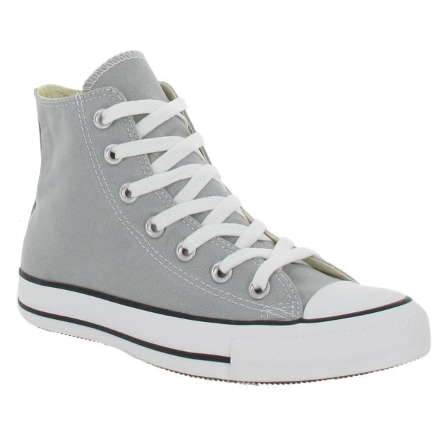 Converse - Chuck Taylor All Star Hi Toile Homme Gris Mirage ...