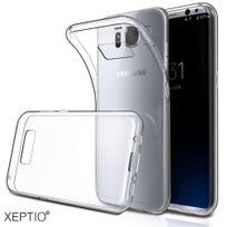 Xeptio - Etui transparent pour Samsung Galaxy S8 Plus 4G 2017 Coque gel de Protection en Tpu