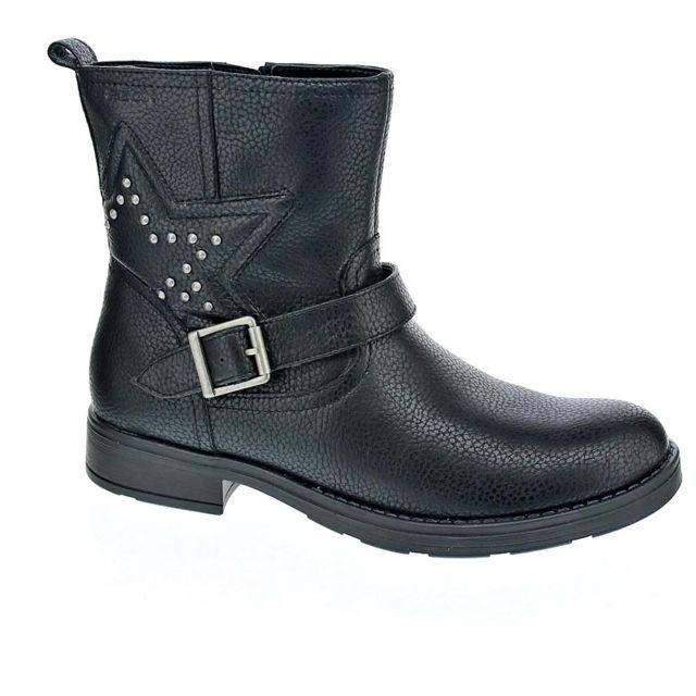 cher Chaussures pas Bottine Noir modele Geox Fille Sofia Achat CQxBoerdW