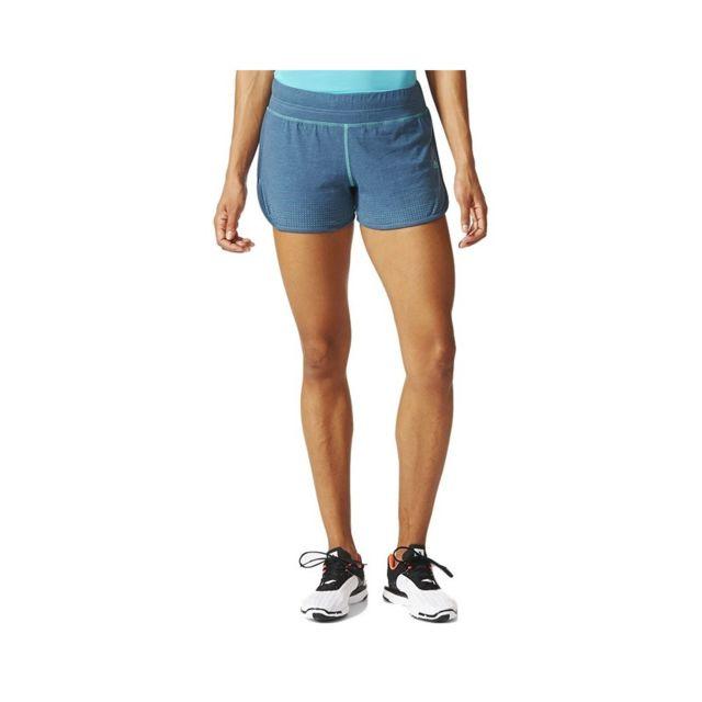 short adidas femme bleu