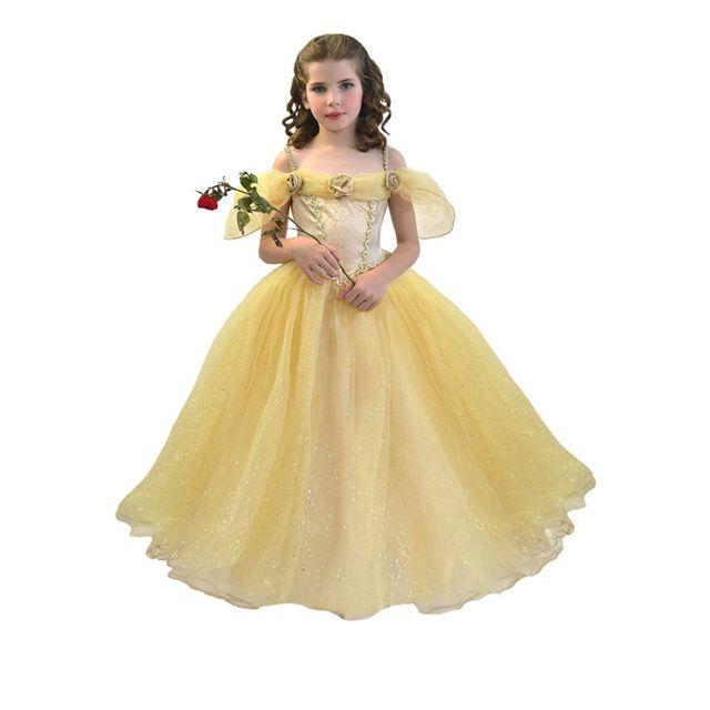 7c42222c050 César - Déguisement enfant   Princesse Belle   8 10 ans - pas cher ...