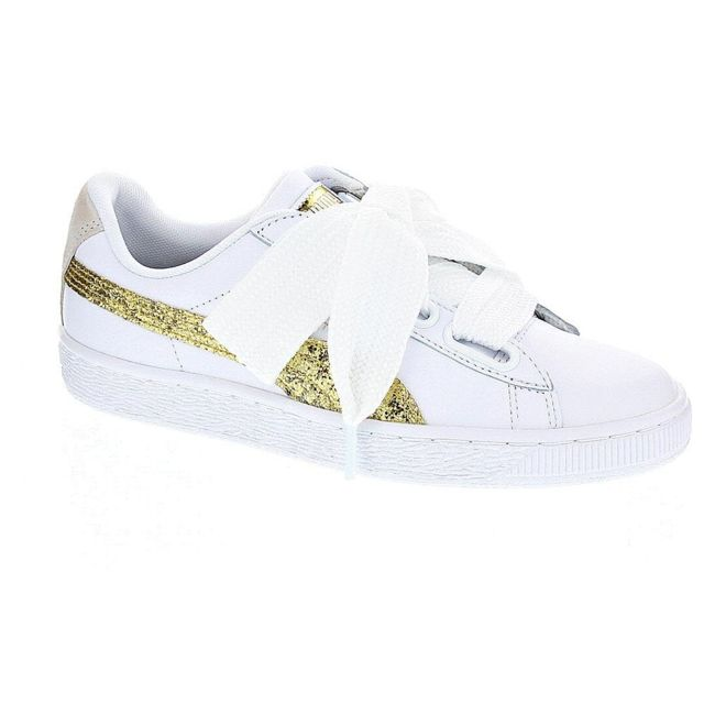 Chaussures Femme Baskets basses modele Basket Heart Glitter