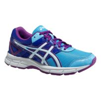 Asics - Gel Galaxy 8 Gs Bleue Et Violette Chaussures Running Junior