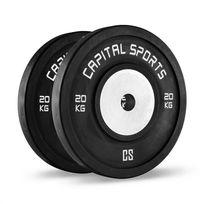 CAPITAL SPORTS - Inval Competition Disques pour haltères Noyau aluminium 2 x 20kg