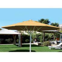 Abritez-vous Chez Nous - Parasol aluminium diam. 6m Maxisoco Jaune