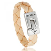 Estigma - Bracelet Simili Cuir Beige