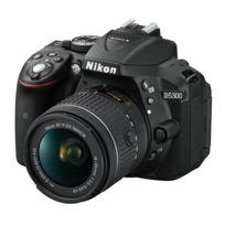 NIKON - appareil photo reflex - d5300 avec objectif 18-55