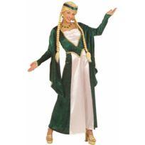 Aptafetes - Déguisement Reine De La Renaissance - Verte