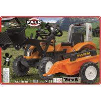 FALK - Véhicule pour enfant - Tracteur Ranch Trac avec remorque - 1054AM