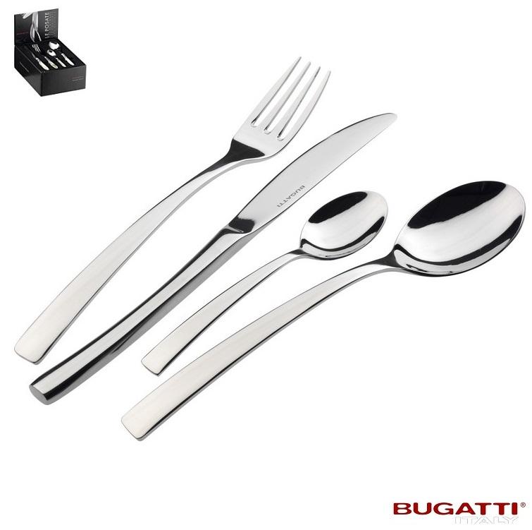 Ménagère 24 pièces , In-098C50MB Promotion - 40 %-Tendence par Bugatti