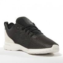 Adidas originals - Chaussures Zx Flux Adv Smooth Noir Femme Adidas b52d55d2e964