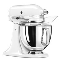KITCHENAID - ROBOT ARTISAN MULTIFONCTION A TETE INCLINABLE 4.8L