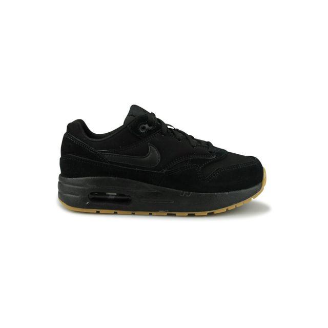 Nike Air Max 1 Bebe Noir pas cher Achat Vente Baskets