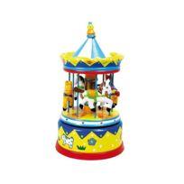 Ulysse - Boîte à musique Carrousel jaune