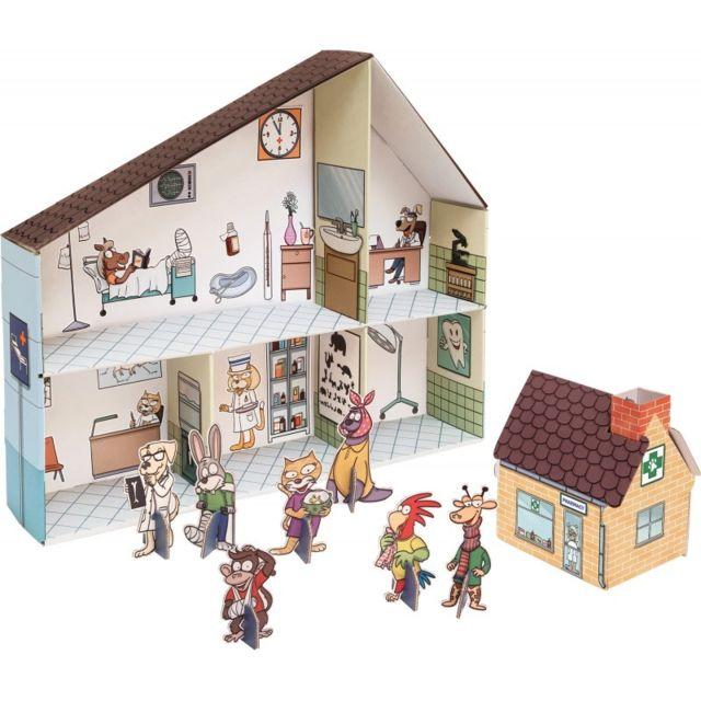 Small Foot Company Maison de poupée en carton \