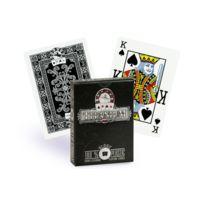 Spot Games - Cartes Titanium 100% plastique noir