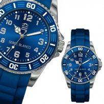 Sergeblanco - Montre Serge Blanco Team Xv Femme Bleu - Sb4023/22