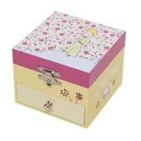 Trousselier - Coffret Musique Cube Le Petit Prince rose