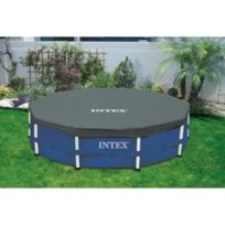 Intex - Bâche de protection pour piscine ronde 3,05m