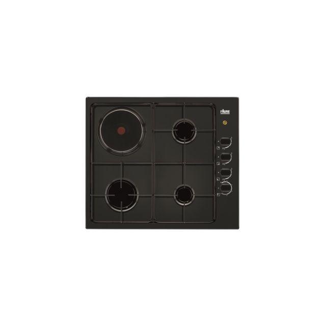 faure table de cuisson mixte gaz lectrique largeur mm. Black Bedroom Furniture Sets. Home Design Ideas