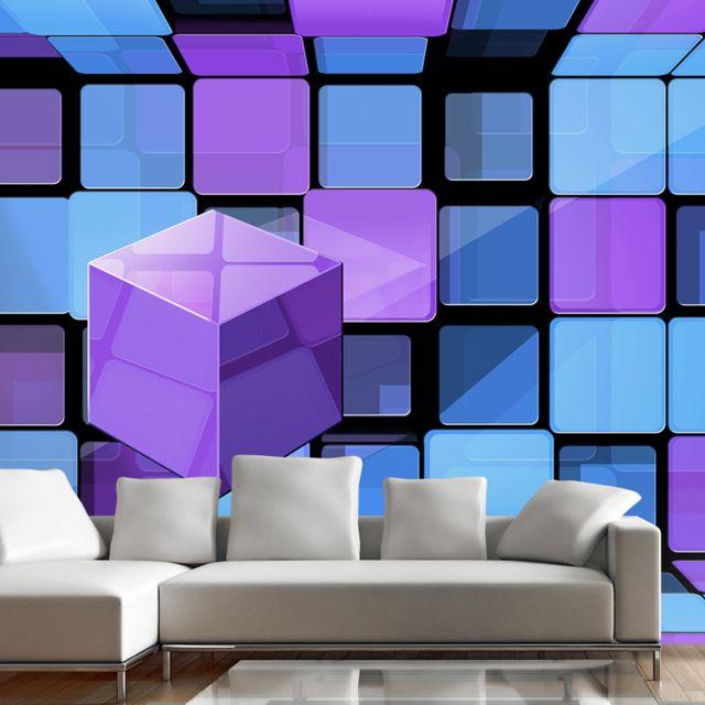 Papier peint Rubik's cube: variation Décoration, image, art   3D et Perspective