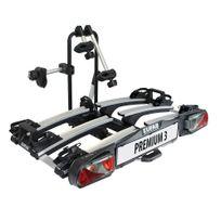 Eufab - Porte-vélos 3 vélos plateforme pliable et basculant Premium 3