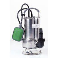 Ribimex - Pompe vide-cave eaux chargées 750w inox + interrupteur flotteur
