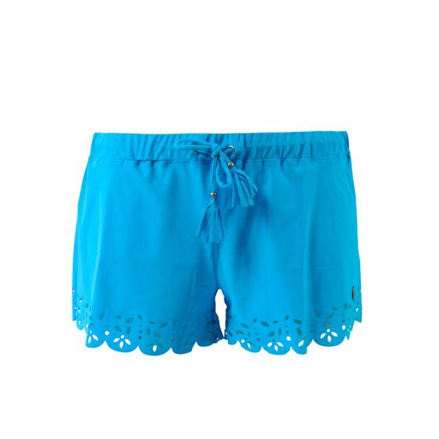755f3d94f0 Banana Moon - Short de plage Huawei Meow Bleu - pas cher Achat / Vente  Short femme - RueDuCommerce