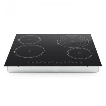 klarstein virtuosa plaque de cuisson en c ramique 6500w 59x52cm 4 zones achat plaque de cuisson nc. Black Bedroom Furniture Sets. Home Design Ideas